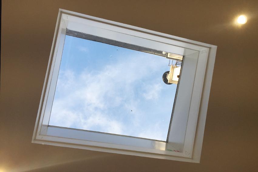 lanternaux d'une toit