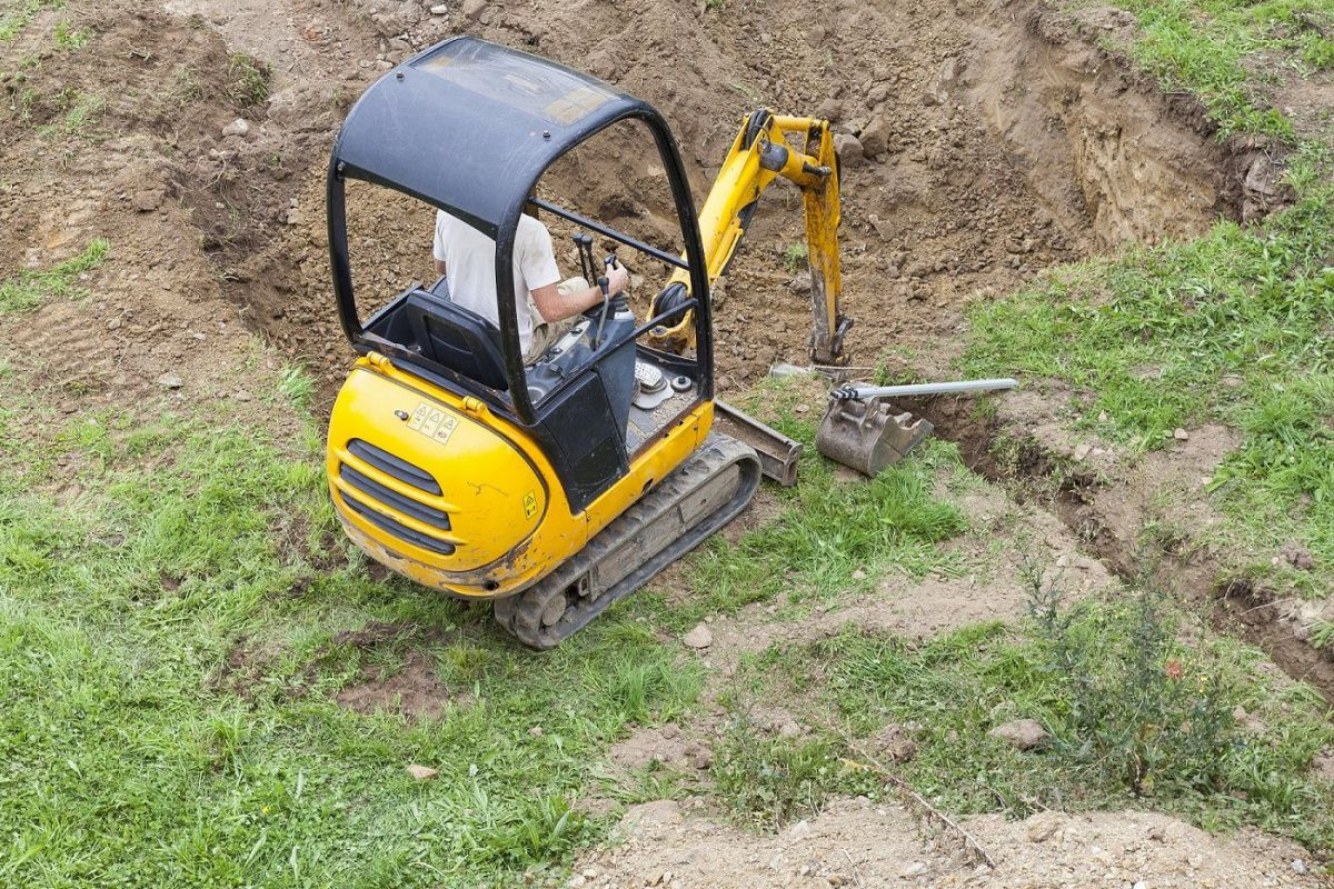Construction maison : la préparation du terrain
